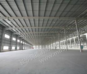 怀化经济开发区华锦实业钢构防火涂装
